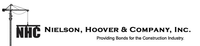 Nielson, Hoover and Company, Inc - Providing Bonds for the Construction Industry.